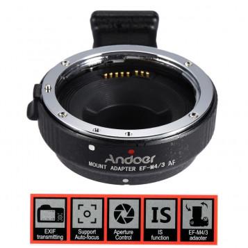 Adapter AF Canon EOS EF EFS - Micro M4/3 autofocus