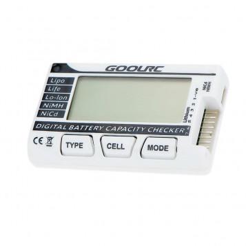 Cyfrowy licznik miernik tester pojemności i napięcia baterii LiPo LiFe Lo-Lon NiMH NiCd