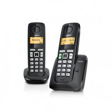 Bezprzewodowy telefon Siemens Gigaset A220 DUO