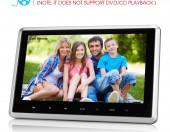 Zagłówek multimedialny DVD ekran dotyk HD FullHD