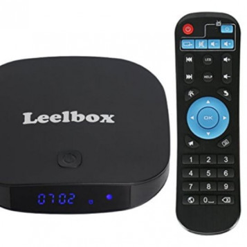Odtwarzacz multimedialny tuner TV box Leelbox Q2 PRO 4K 2GB/8GB