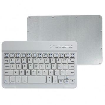 Mini bezprzewodowa klawiatura bluetooth Landfox 10'' biała