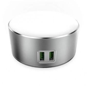 Inteligentna ładowarka lampa dotykowa Ldnio A2208 2 USB