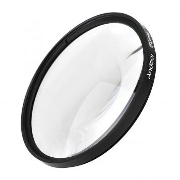 Zestaw filtrów polaryzacyjnych Andoer 62mm CPL UV ND8