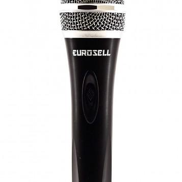 Dynamiczny mikrofon wokal Eurosell EUR-MIC50C przewód XRL Jack Mic