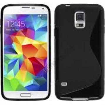 Etui silikonowa TPU dla Samsung galaxy s5 mini - szary