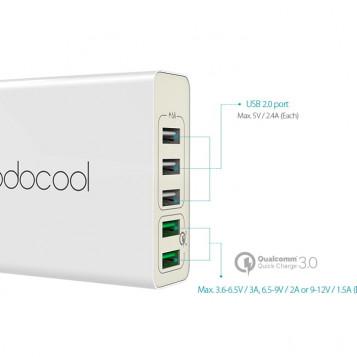 Zasilacz ładowarka USB Dodocool DA85 5 portów