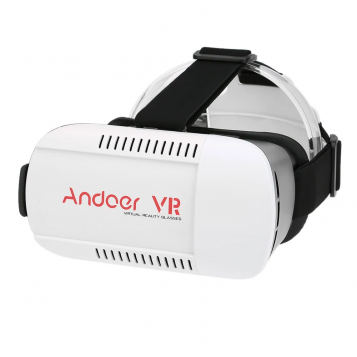 Okulary gogle 3D virtual reality 360 VR Box 2.0 czarne