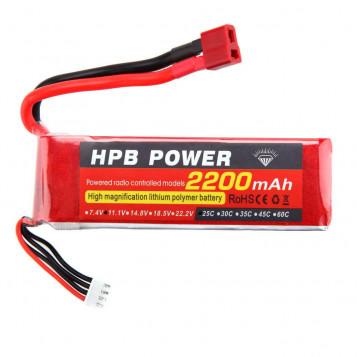 Akumulator bateria litowo-jonowa 2200mAh HPB 25C 11.1V