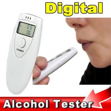 Przenośny mini alkomat LCD profesjonalny tester