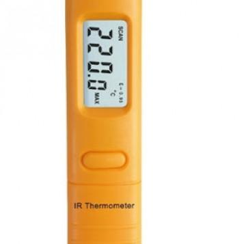 Bezkontaktowy kieszonkowy termometr na podczerwień HT-10