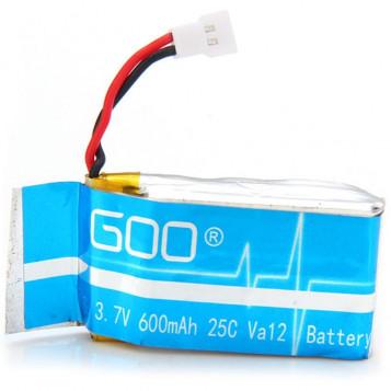 Akumulator Goo LiPo 1S 3.7V 600mAh 25C Va12