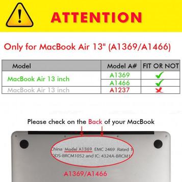 Etui Macbook AIR 13'' OBUDOWA HARD CASE