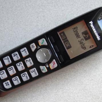 Telefon stacjonarny Panasonic KX-TGA651EX sama słuchawka
