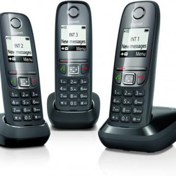 Doskonały zestaw telefon stacjonarny 3 w 1 Gigaset A475 TRIO