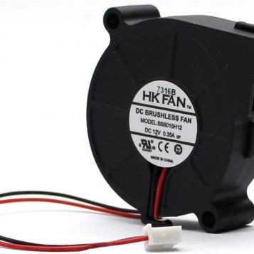 Bezszczotkowy wentylator chłodzący na prąd HK Fan BB5015H12 UL TUV