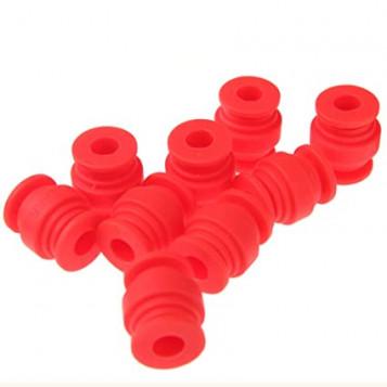 Gumowe kulki tłumiące drgania GoolRC RM486B 40 szt. czerwone
