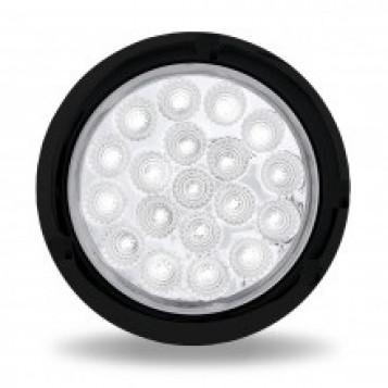 Tyle światło samochodowe okrągłe 12 LED 24V białe