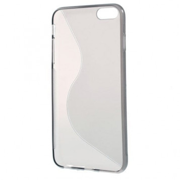 SILICONE ETUI obudowa przeźroczysta do iPhone 6 plus 6S PLUS