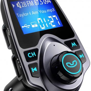 Adapter radia samochodowego z ładowarką VicTsing BH267A bluetooth