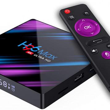 Odtwarzacz multimedialny tuner TV Box H96 Max 2/16GB 4K