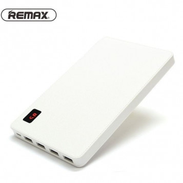 Powerbank Remax Proda 30000mah 4 porty USB biały