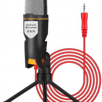 Profesjonalny mikrofon pojemnościowy Disdim Skype Youtube PC