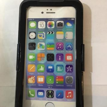 Wodoszczelne i wodoodporne etui do iPhone 6 plus czarny