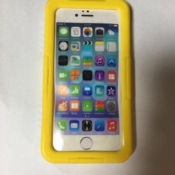 Wodoszczelne i wodoodporne etui do iPhone 6S żółty
