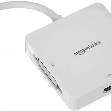 Przejściówka konwerter HDMI/DVI/VGA to Mini DisplayPort AmazonBasics