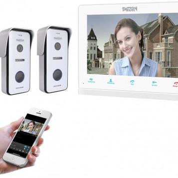 Wideofon wideodomofon TMEZON MZ-IP-V103W 10 HD WiFi IR