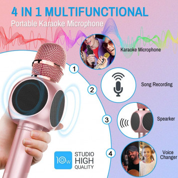 Mikrofon Bluetooth do karaoke ERAY