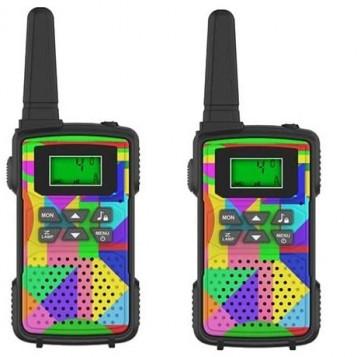 Krótkofalówka dla dzieci Walkie Talkie ounuo HK-988 Multi Camo