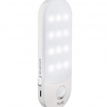 Oświetlenie szafki Hually z czujnikiem ruchu z magnesem do szafy