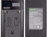 Ładowarka do baterii Sony Neewer NP-F550 NP F970 F750 F960 F530 F570 CCD-SC55 TR516 TR716