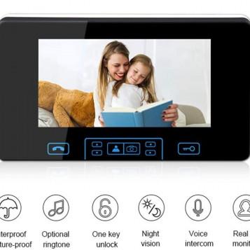 Monitor do wideo domofonu ANBOSON 7 cali