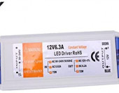 Sterownik zasilacz kontroler LED 3X 12V 72W 6.3A