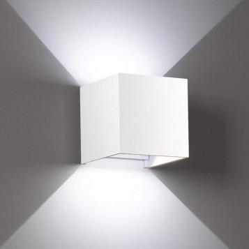 Kinkiet ścienny nowoczesny dowolna modyfikacja promienia LEDMO XL-BD-0112 12W biały