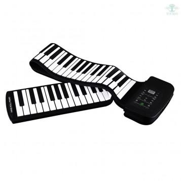 Przenośne silikonowe elastyczne zwijane pianino 88 klawiszy