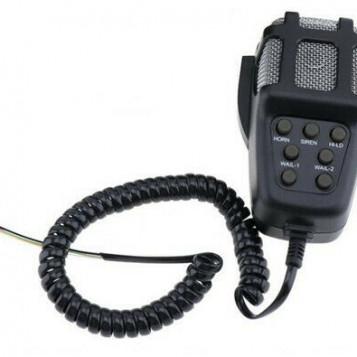 Mikrofon gruszkowy do głośnego klaksonu syreny 12V 100W