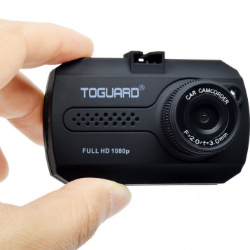 Wideorejestrator kamera samochodowa Toguard CE680 HD DASH LCD